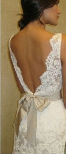 amazing back and lace