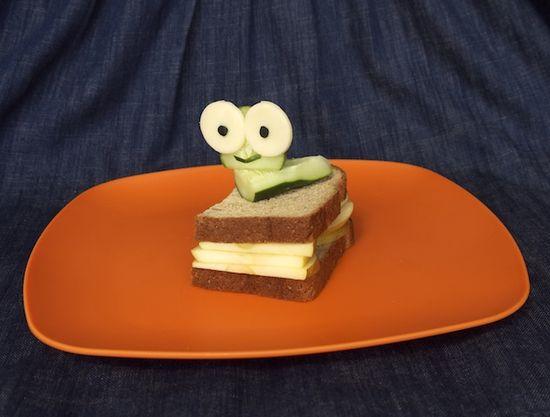 bookworm sandwich.