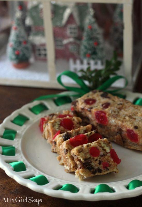 Christmas Icebox Fruit Cake Recipe