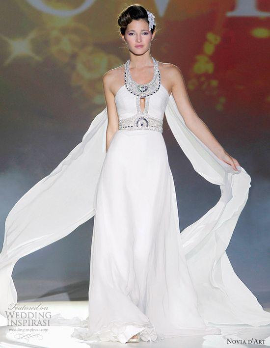 Novia d'Art Beirut gown