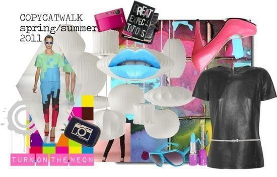 """""""Natural Coloring: Cool Summer, Clothing Style:Gamine, Fashion Season: Spring/Summer 2011"""" by"""