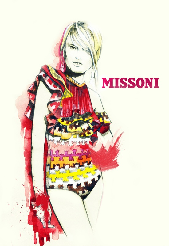 Karin Fashion Illustrations