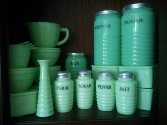 Jadite collection