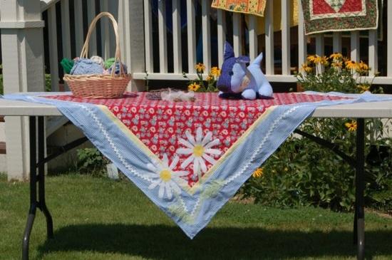 Summer picnic tablecloth