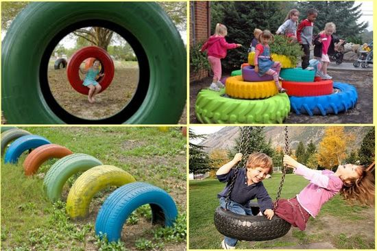 Creative diy ideas for tires