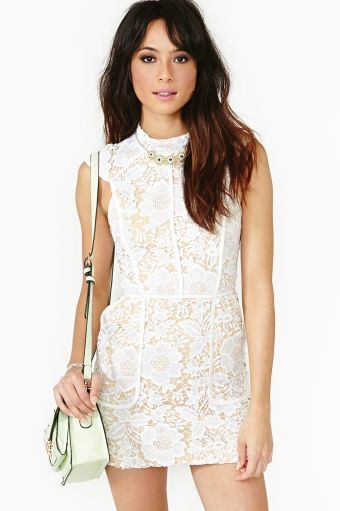 Brakelight Lace Dress
