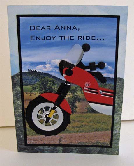 Motorbike Birthday by Alene