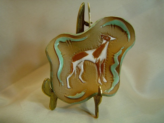 Pat Ervin - Whippet dog collection