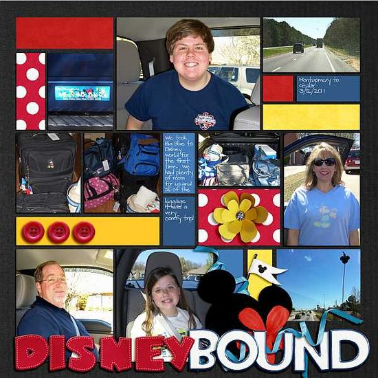 #papercraft #disney #scrapbook #layout