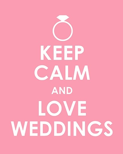 For the wedding planners...