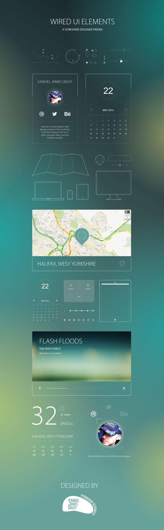 Free Wired UI Kit