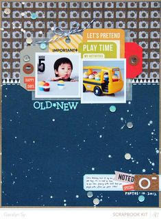 Old*New - @Abigail Phillips Mounier Calico April Kit