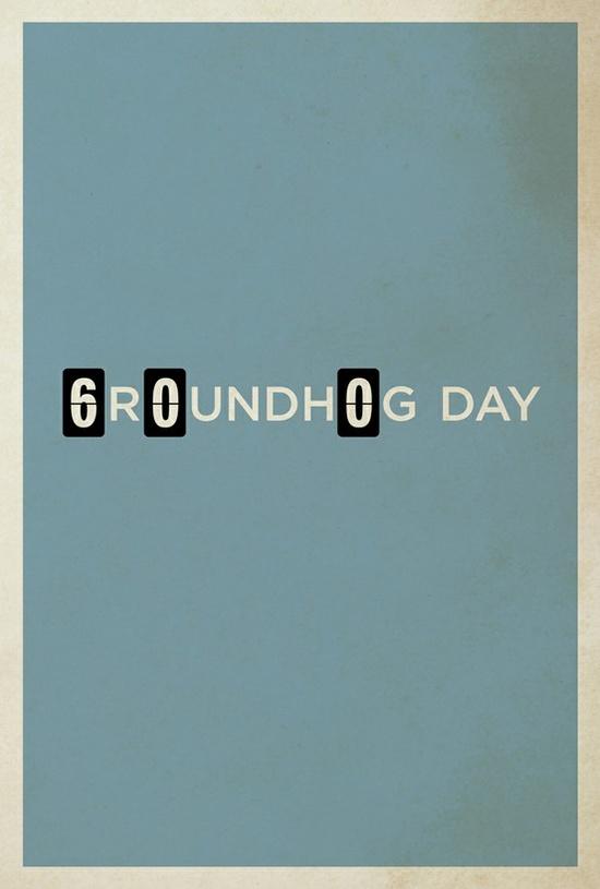 Groundhog Day. #graphic #design