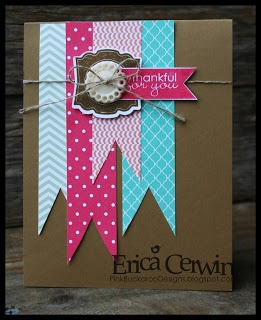 Stampin' Up! Card by Pink Buckaroo Designs