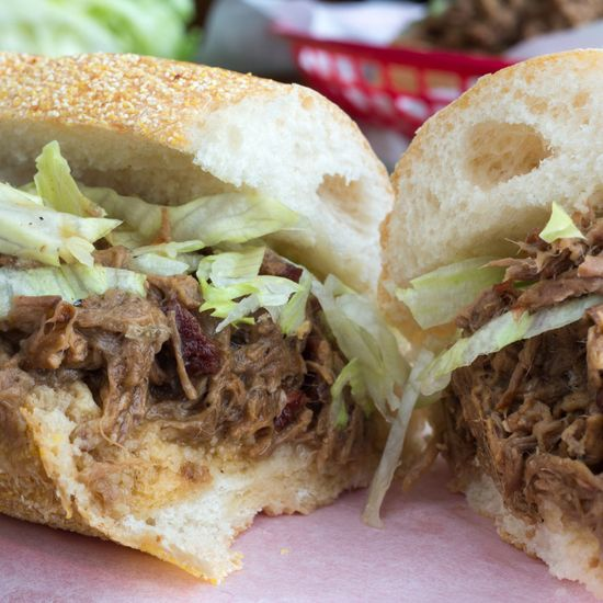 Recipe:  Slow Cooker Roast Beef Po' Boys   Recipes from The Kitchn