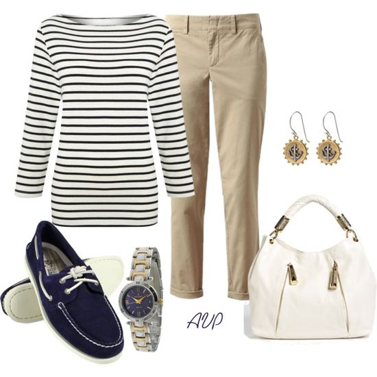 """Nautical Stripes"" by amy-phelps on Polyvore"
