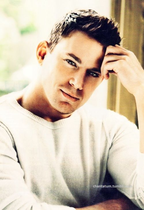 Channing Tatum? Hes what gets me thru the day?