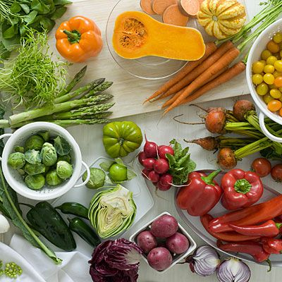 Eat more colorful fruits and veggies