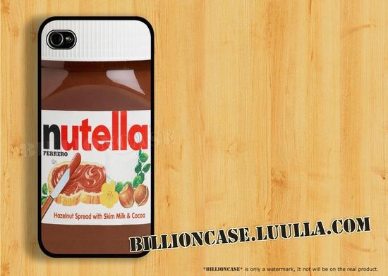 Nutella iPhone 5 Case iPhone 4 Case iPhone