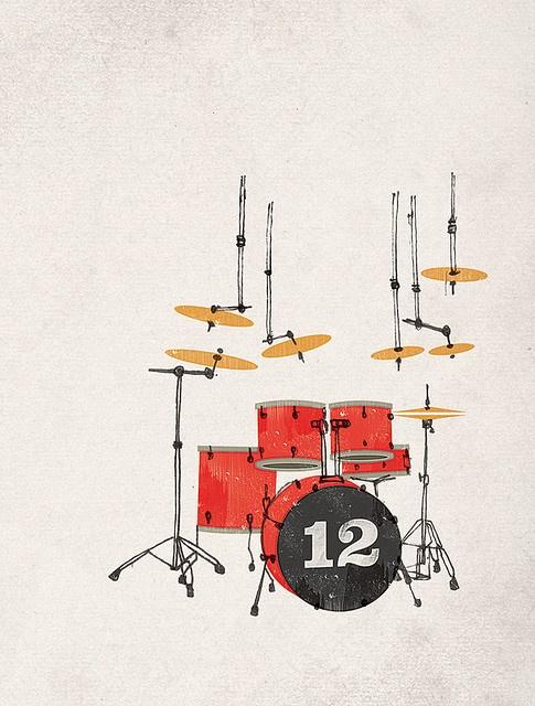12 Drumkit