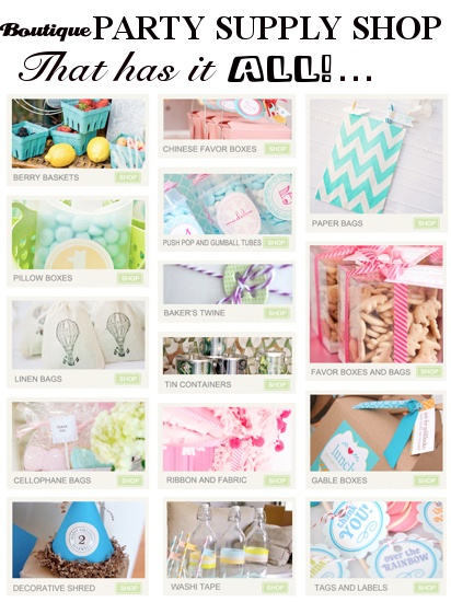 Boutique PARTY SUPPLY SHOP that has it ALL! www.KarasPartyIde...