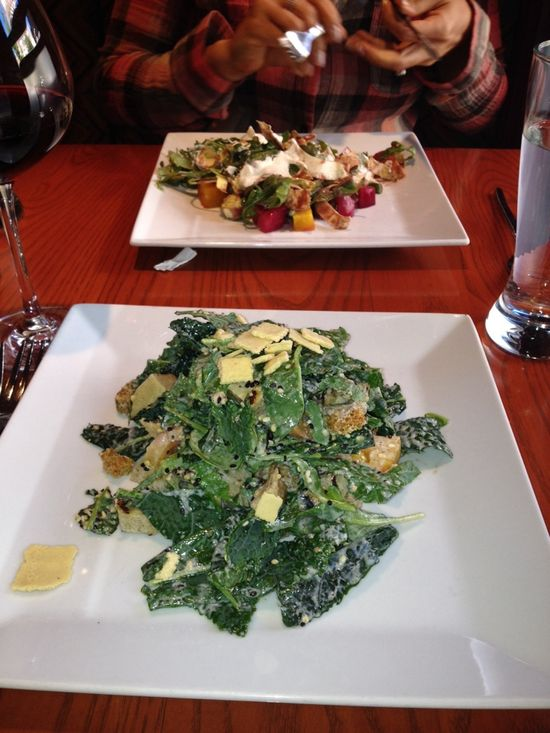 Higher-end vegetarian cuisine...