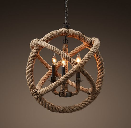Rope Planetarium Chandelier Small