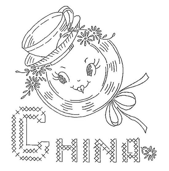 china embroidery pattern