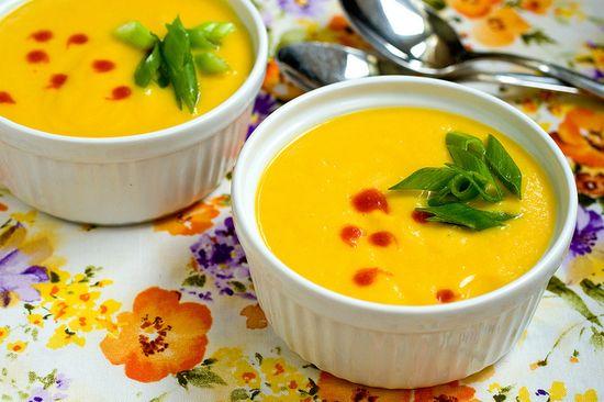 Vegan Chilled Golden Beet & Ginger Soup