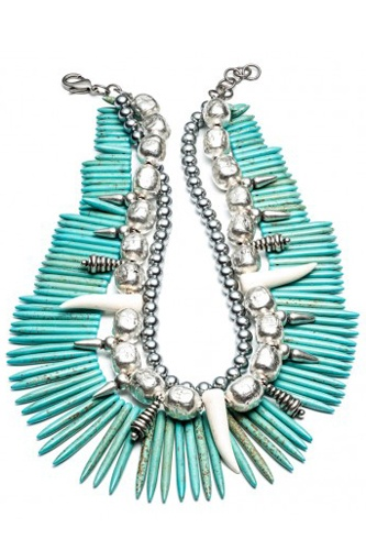 'Malawi' Dannijo turquoise necklace