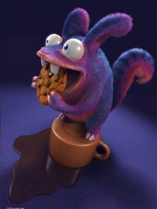 The Stunning 3D Character Art of Carlos Ortega Elizalde
