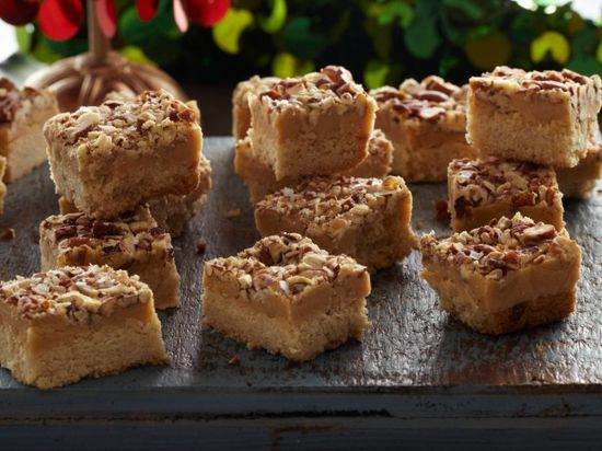 Maple and Pecan Shortbreads : Recipes : Cooking Channel