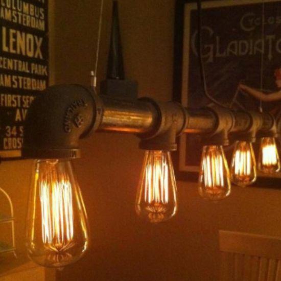 Pipe lighting!
