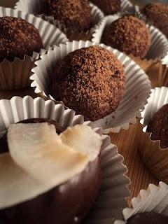 raw + vegan truffles
