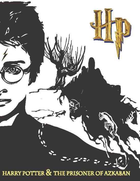 Harry Potter Series Book Covers - Book 3