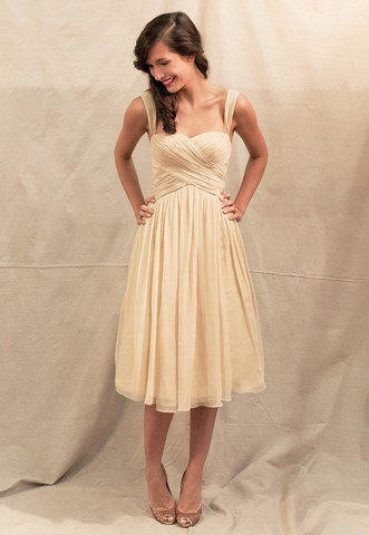 vintage inspired dress. for the bridesmaids?