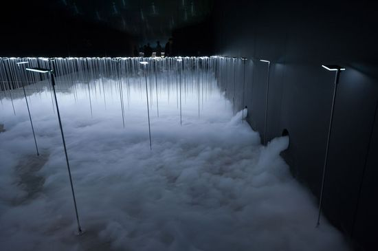 sinato illuminates interior with ethereal OLED installation - designboom