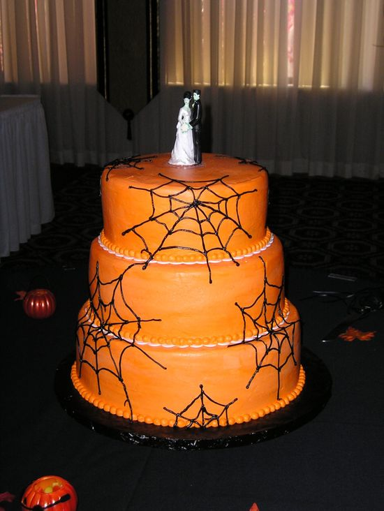 Halloween Inspired Wedding Cakes Wedding Idea