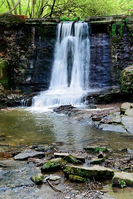 Wepre Park Waterfall,  Wales