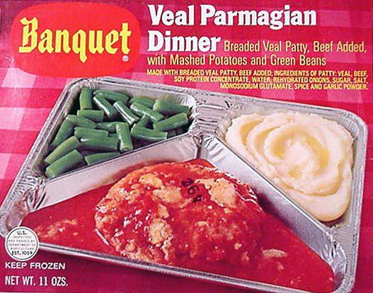 vintage tv dinner ads YUM! (not)
