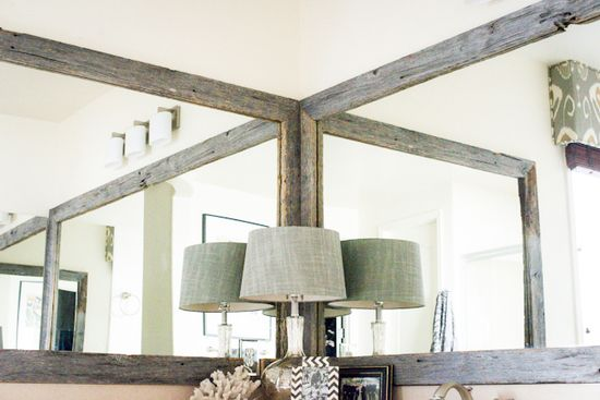 Gorgeous Reclaimed Frames :: Home Decorating