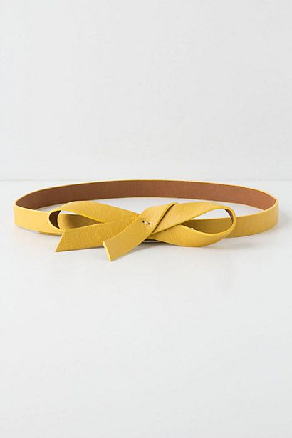 Slouchy Bow Belt - Anthropologie.com