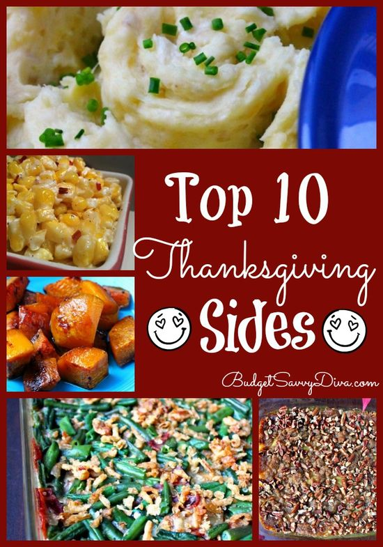 Cooking Thanksgiving Dinner? All these sides have been made and loved by THOUSANDS of home cooks! 10 Best Thanksgiving Side Recipes