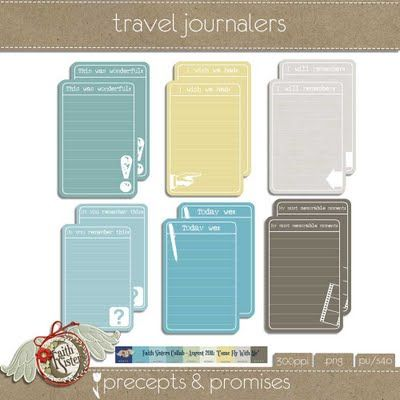 Travel Journal Printable {Travel Printables}  Everyone comes back with pictures to document their travels, with these great printables you can document the memories in writing as well! Great to add to a scrapbook or just to keep along side your photographs!