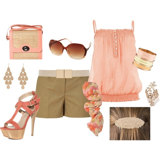Peachy Summer Outfit