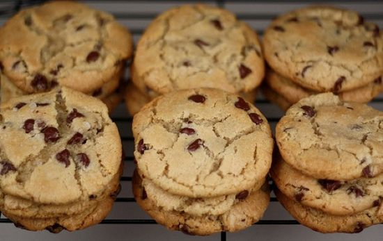 Our favorite chocolate chip cookies! You NEED this recipe! twopeasandtheirpo... #cookies #recipe