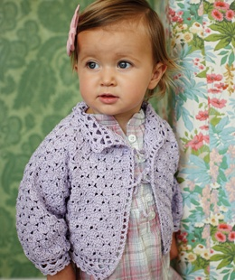 Fashionable baby girl