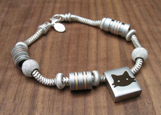 Handmade charm bracelet by Spexton