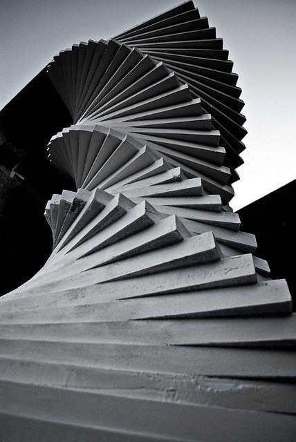 Stairway to heaven. Tsukuba University, Japan