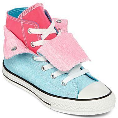 Converse® Two Fold Chuck Taylor Hi Top Girls Shoes -